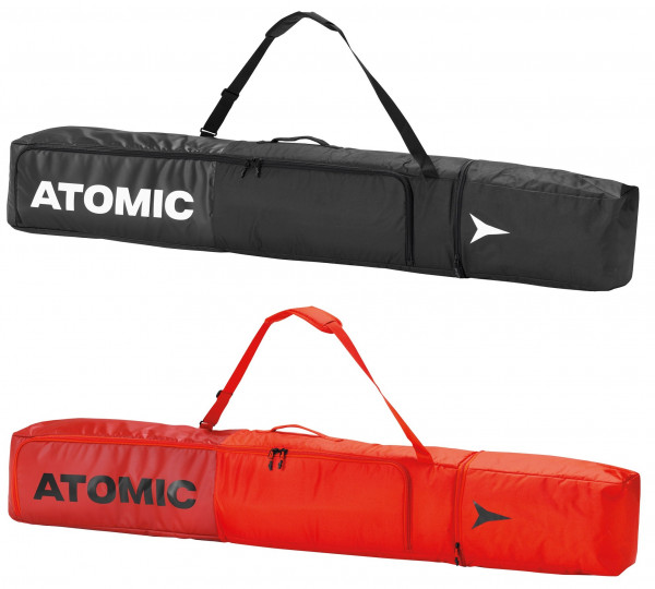 ATOMIC DOUBLE SKI BAG PADDED für 2 Paar Skitasche Skisack Collection 2021