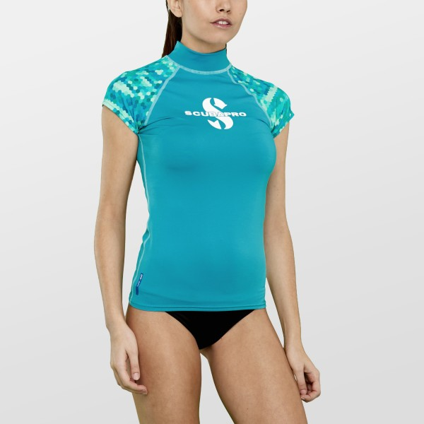 Scubapro CARIBBEAN Rash Guard Ärmellos Damen Slim Fit UV-Shirt