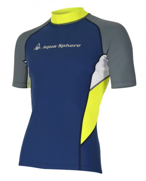 Aqua Sphere BLAZE Rash Guard Herren UV-Shirt
