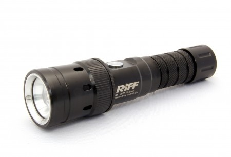 RIFF TL-ZOOM Tauchlampe mit ZOOM Funktion