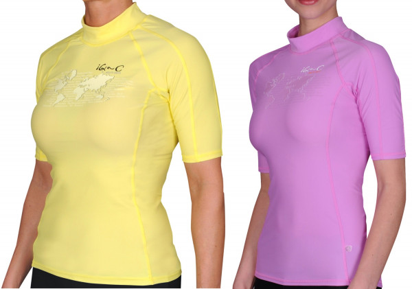 IQ UV 300 Shirt Slim Fit Watersport Ocean Damen UV Shirt SALE