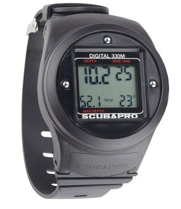 UWATEC Digital 330 Tiefenmesser Bottom Timer