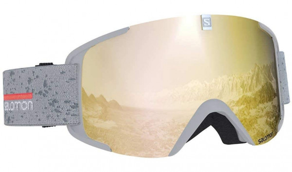 SALOMON XVIEW Skibrille Snowboardbrille (white-matt) Collection 2020