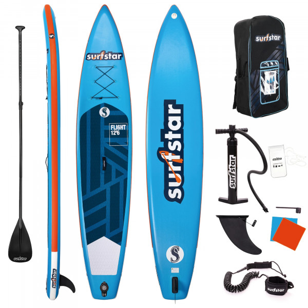 Surfstar SUP 12'6 x 30' x 6' aufblasbares Tour Stand Up Paddling Board Collection 2021