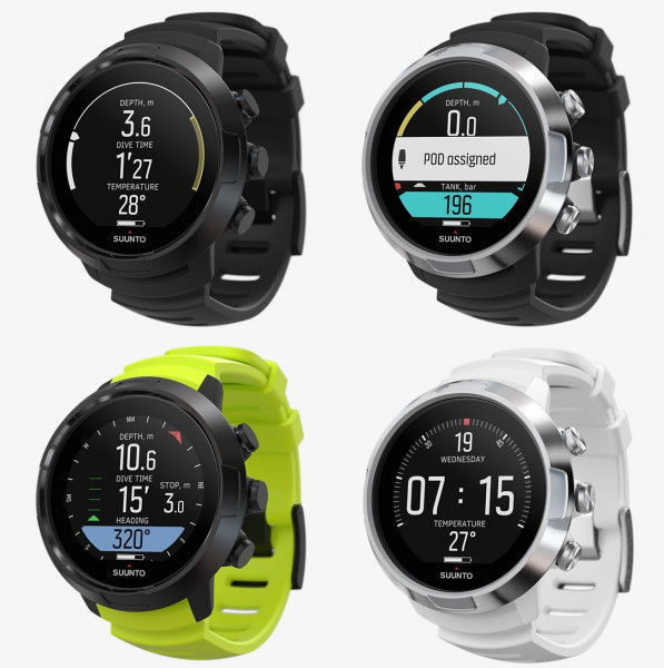 Suunto D5 Tauchcomputer ohne Sender Collection 2020