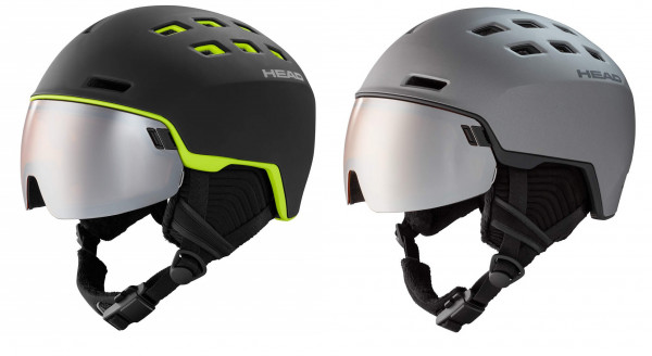HEAD RADAR Skihelm Snowboardhelm mit VISIER UNISEX Collection 2021