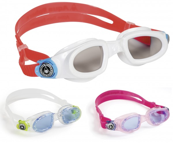 Aqua Sphere MOBY Kids getönte Schwimmbrille