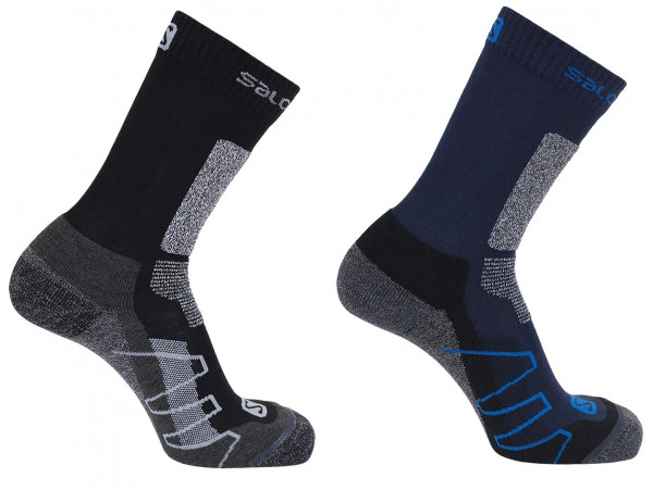 SALOMON PERFORMANCE PRO MERINO Wandersocken Trekkingsocken 2er Pack Model 2020
