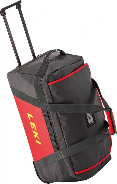 LEKI Trolley Bag Reisetasche Reisetrolley (anthrazit-red)