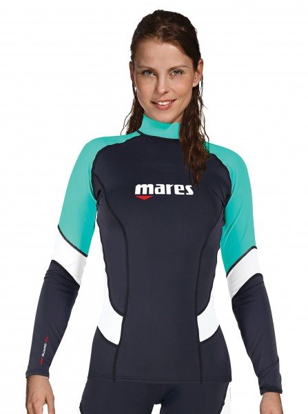Mares UV-Shirt Rash Guard Trilastic Slim Fit Longsleeve Damen Collection 2020