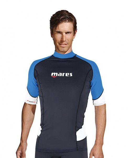 Mares UV-Shirt Rash Guard Trilastic Shortsleeve Herren Collection 2021