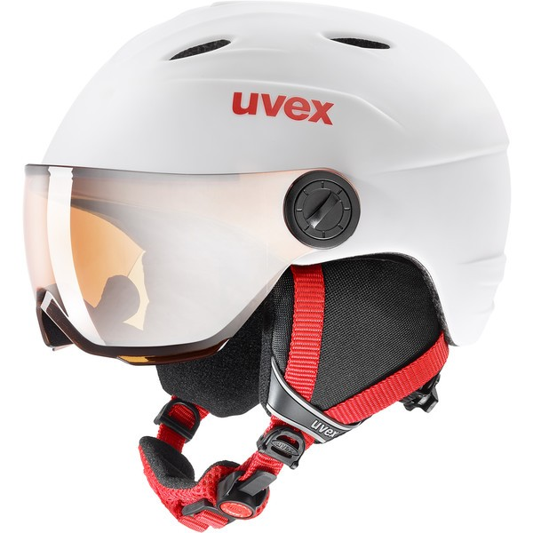 UVEX JUNIOR VISOR PRO Kinder Skihelm Snowboardhelm Collection 2020