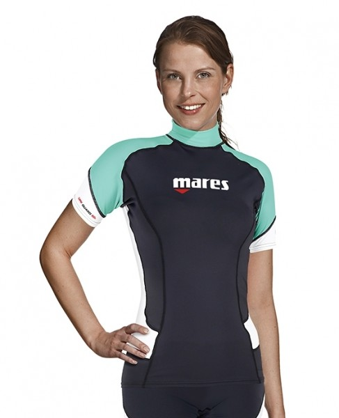 Mares Rash Guard Trilastic Shortssleeve UV-Shirt Damen Collection 2020