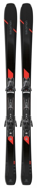 SALOMON XDR 80 TI mit Z12 F80 Bindung All Mountain Ski