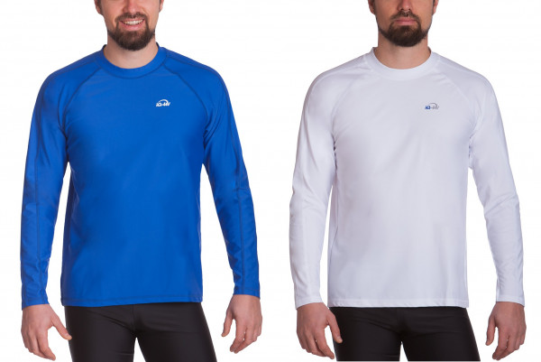 IQ UV 300 Shirt Loose Fit Watersport Long Sleeve Men UV Shirt